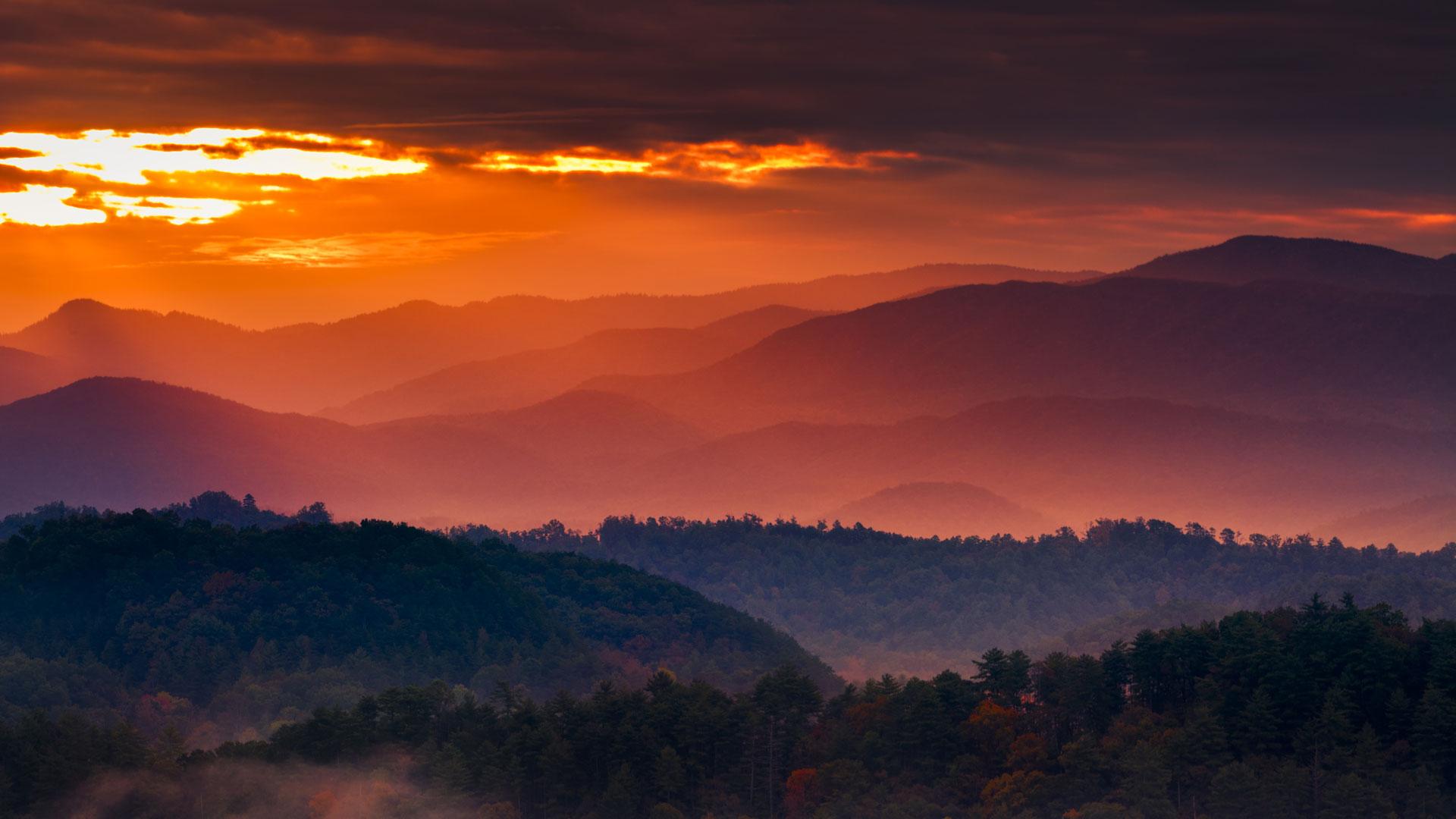 Arlington Federal Credit Union >> mountains-at-sunset - FedTrust Federal Credit Union