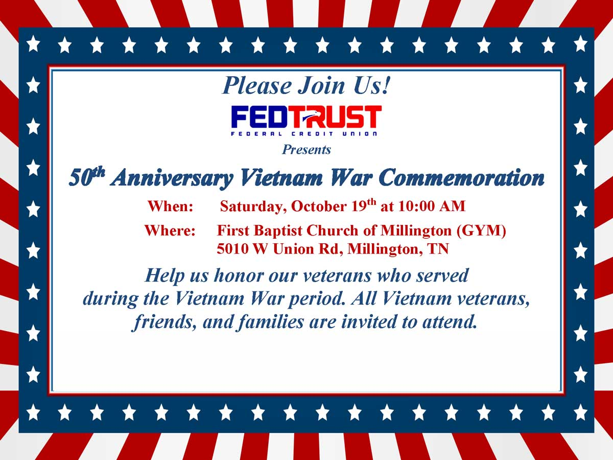 Join us for our Vietnam Commemoration event!